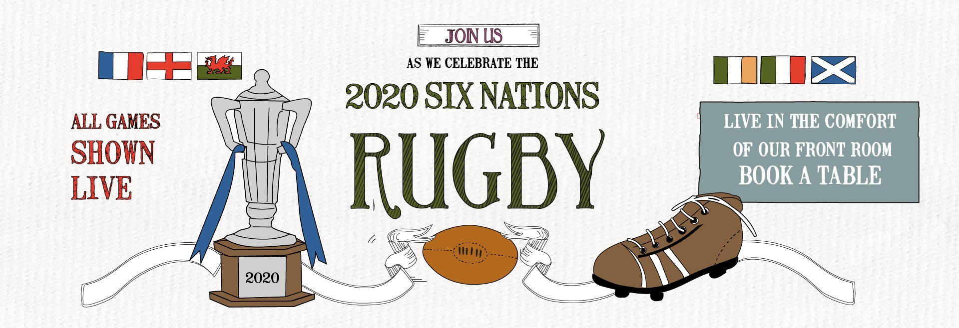 Six Nations at The Crown and Anchor