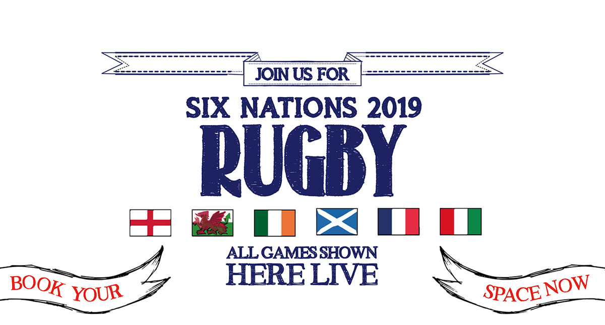 Watch the 6 Nations at The Crown and Anchor in London