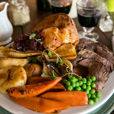 Quality Sunday food at The Crown and Anchor