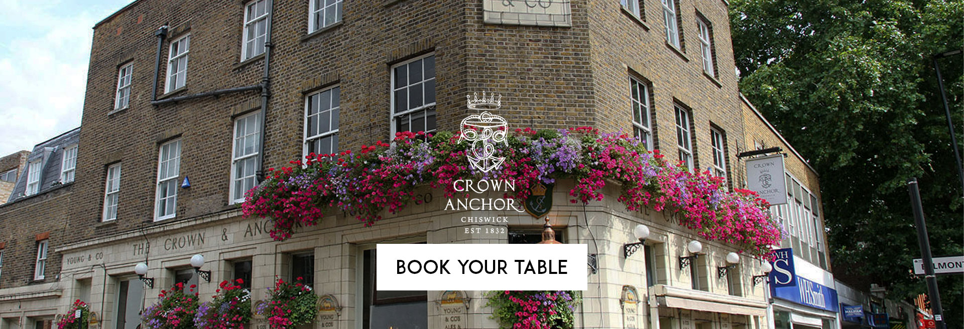 Book Your Table at The Crown and Anchor